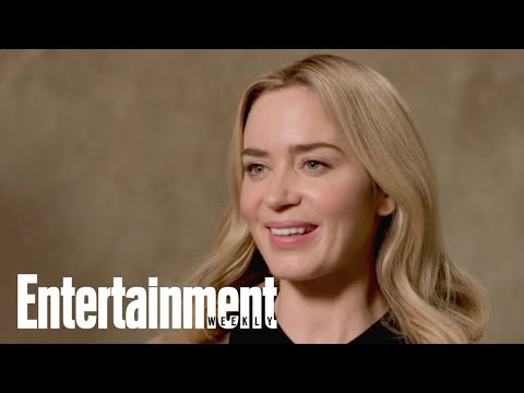 Emily Blunt On Her 'Mary Poppins Returns' Role  Cover Story  Entertainment Weekly