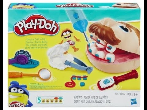 Play-Doh Dr Drill N Fill Playset – Play Dentist –  Unpack and Review