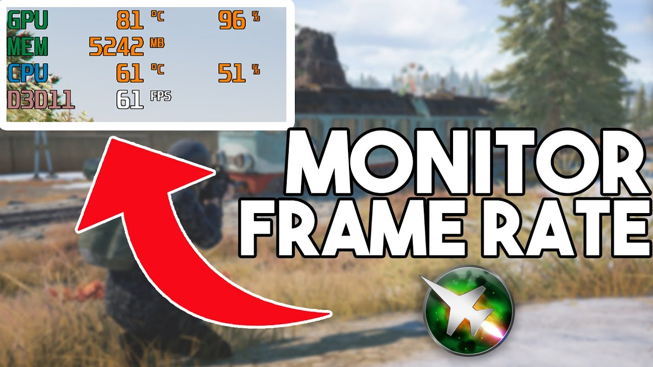 Download How to monitor Frame rate in any games [MSI Afterburner FPS Counter]