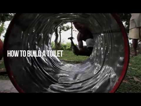 Malaita Project 2014 - How to build a toilet in the Solomon Islands.