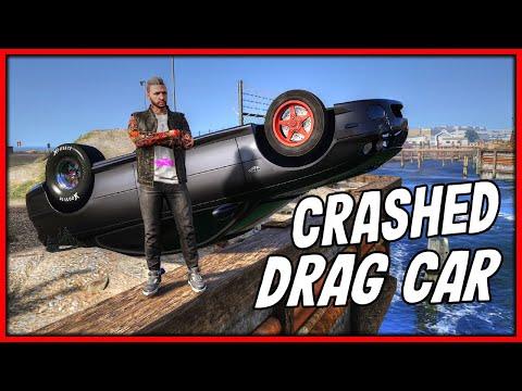 GTA 5 Roleplay - HUGE DRAG RACING CAR CRASH ACCIDENT!! | RedlineRP #854