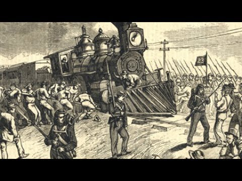 Marking the 140th Anniversary of the Great Railroad Strike of 1877