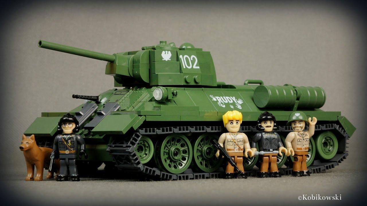 COBI T-34/76 Rudy 102 Czterej pancerni i pies (2485 ...
