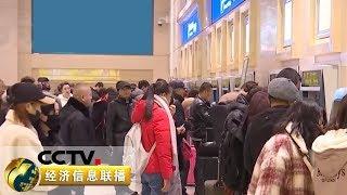 《经济信息联播》 20191225| CCTV财经