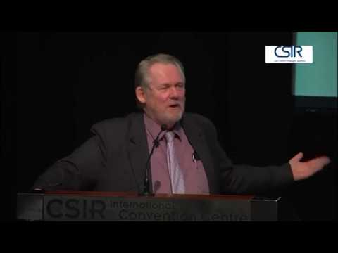 Minister Rob Davies delivers keynote speech at 6th CSIR conference