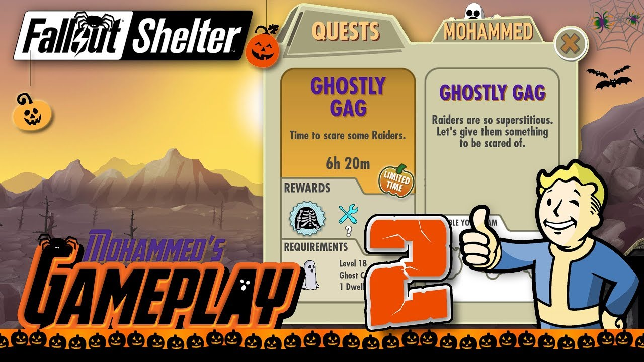 Fallout Shelter Halloween 2020 Quest The Haunting of Mass Chemical   Fallout Shelter Halloween 2017