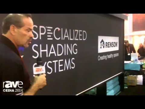 CEDIA 2014: Specialized Shading Systems Demos Zippered Shade Screen for Exteriors
