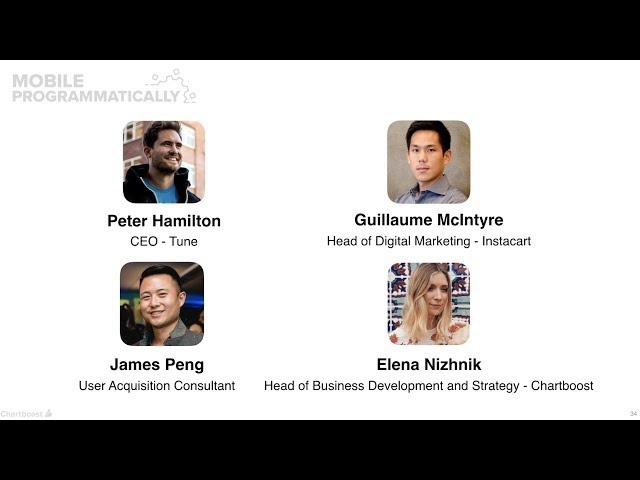 Panel: Dissecting the in-app opportunities for brand marketers (Mobile Programmatically)