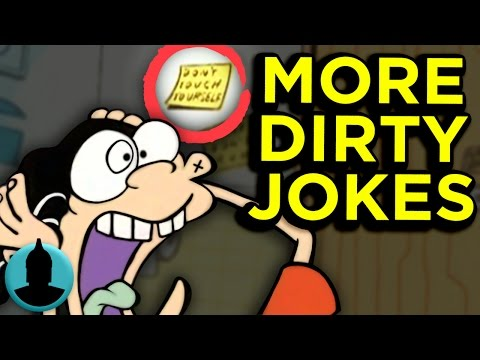 10 More Dirty Cartoon Jokes You Missed!! - (Tooned Up S3 E24)