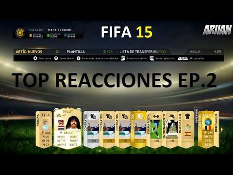FIFA 15 | TOP Reacciones Pack Opening EP.2 | GULLIT, MESSI... | DjMaRiiO