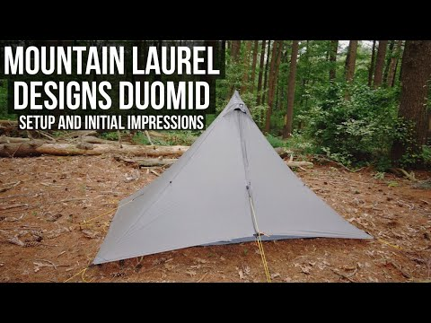 Mountain Laurel Designs Duomid (Silnylon) - Setup and Initial Impressions