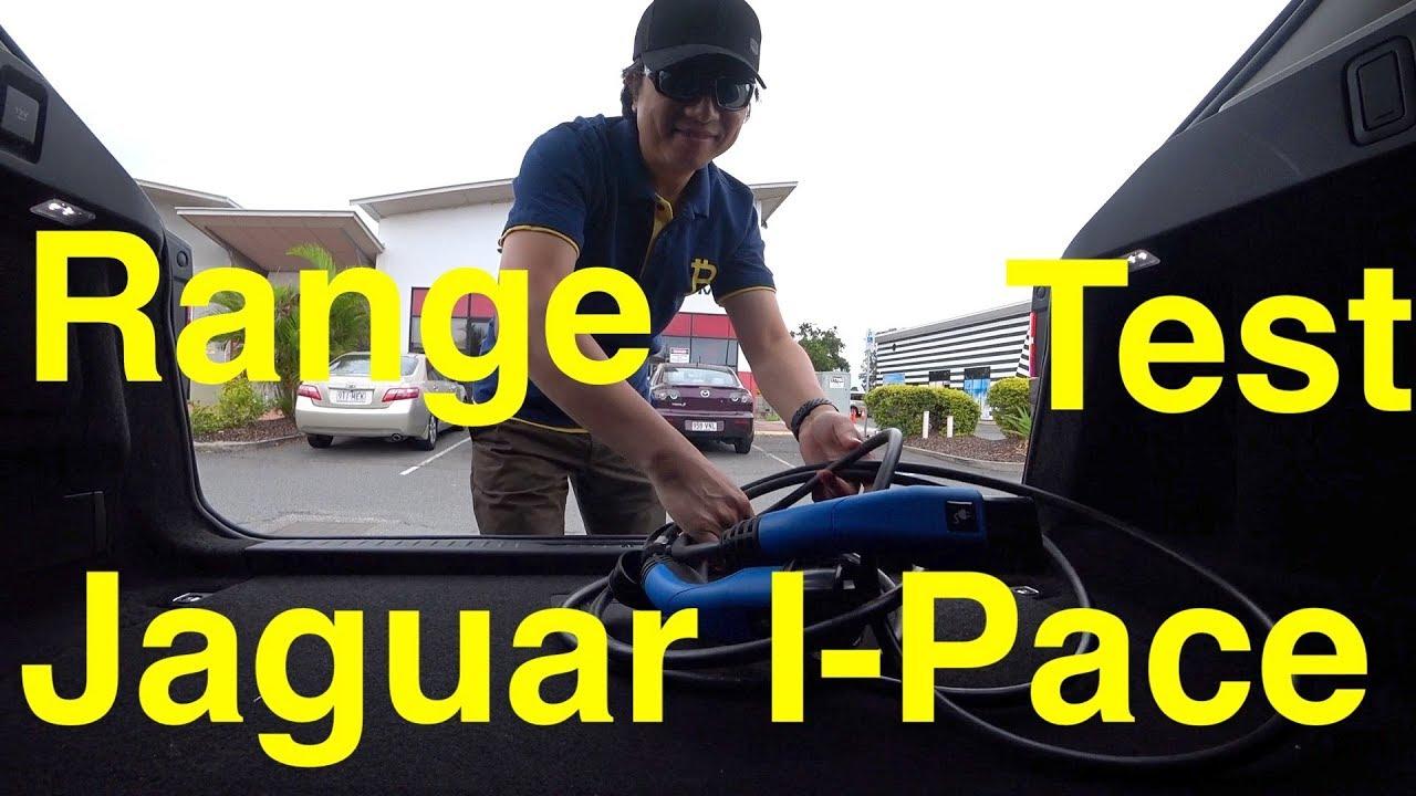 Jaguar I-Pace Real World Charging and Range Test 2019 Gold Coast Australia - YouTube