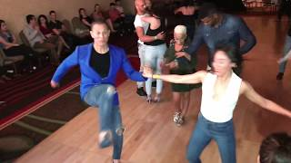 BETO + SCARLET + MARCO & MANNY SALSA DANCING AT SEATTLE SALSA CONGRESS 2018