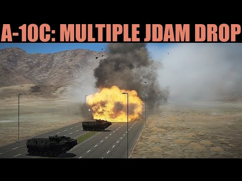 A-10C Warthog: Multiple JDAM Ripples Tutorial | DCS WORLD
