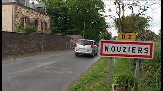 Itinéraire Bis en Limousin : Nouziers (Creuse)