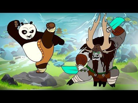 мультик кунфу панда 2