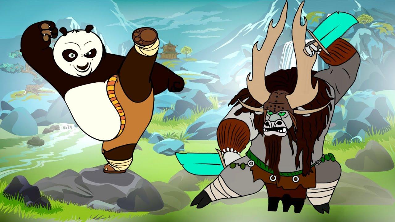 кунг-фу панда картинки из мультика