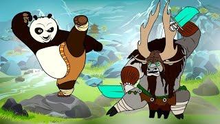 Кунг фу ПАНДА 3 Мультик раскраска / Kung Fu Panda 3 Coloring