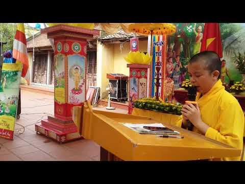 MAI PHÚ. Đại lễ Phật đản phật lịch 2562 ( 2018 ) chùa Linh Am xã Phú Lương.)