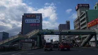 国道192号単独区間 徳島本町交差点→井地交差点