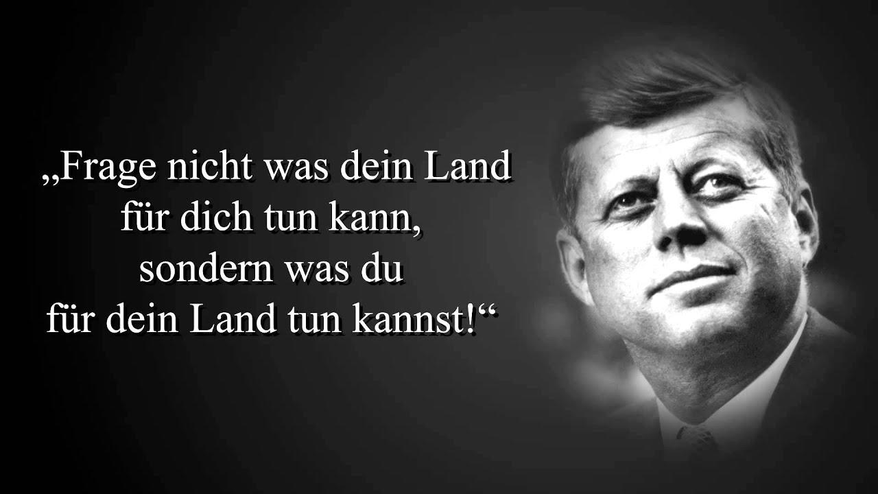 Zitate Von John F Kennedy Youtube