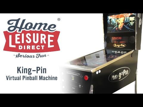 King-Pin Virtual Pinball Machine | Home Leisure Direct