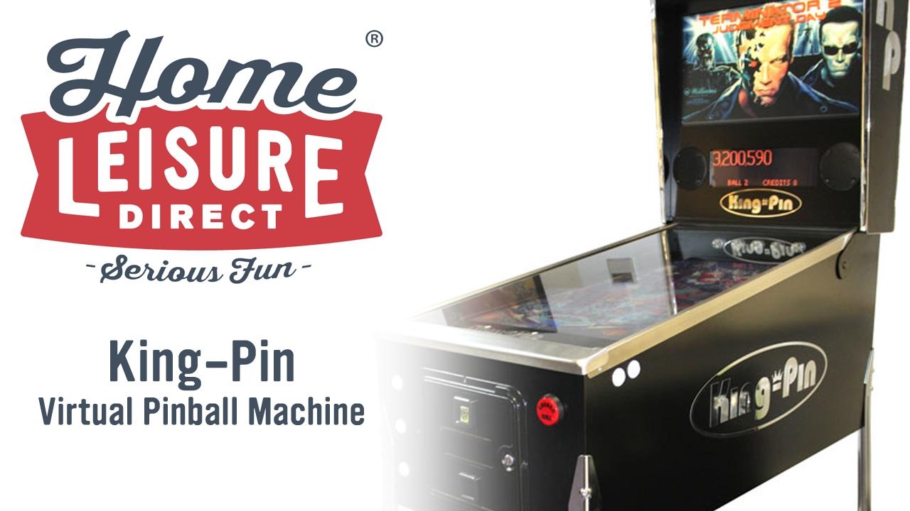 King-Pin Virtual Pinball Machine