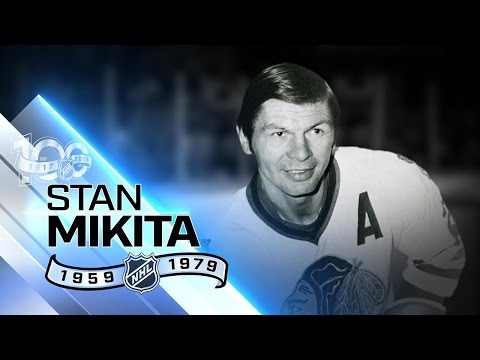 Stan Mikita Chicago's all-time leading scorer