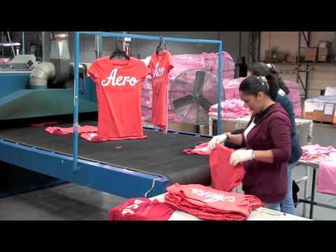 The Silk Screen Printing Company in Tijuana, Mexico