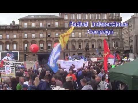 Anti-Austerity Rally - Glasgow June 20th 2015