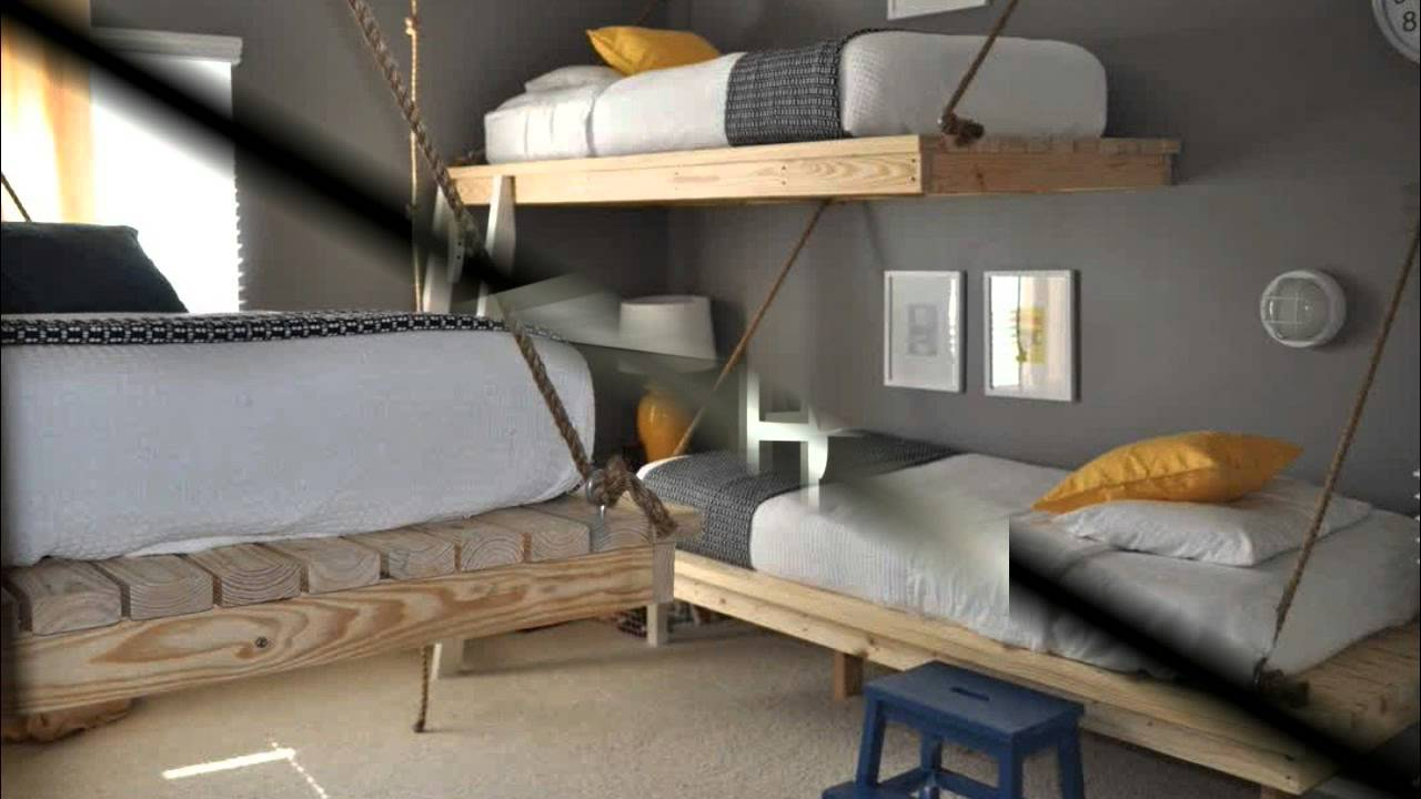 15 Cool Designs of Bunk Beds with Stairs - YouTube