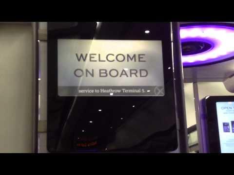 Heathrow Express Terminals 2 & 3 to Terminal 5