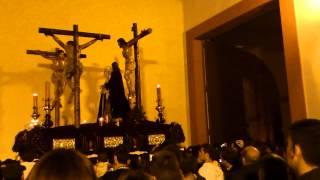 encierro cristo del perdon (dolores del puente) con su marcha. Semana Santa Malaga 2012