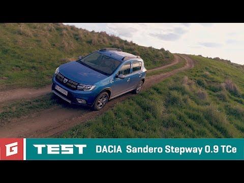 DACIA SANDERO STEPWAY 2017 - TEST - GARAZ.TV - Rasto Chvala