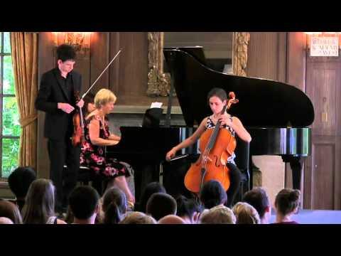 Jorja Fleezanis Masterclass June 29, 2015