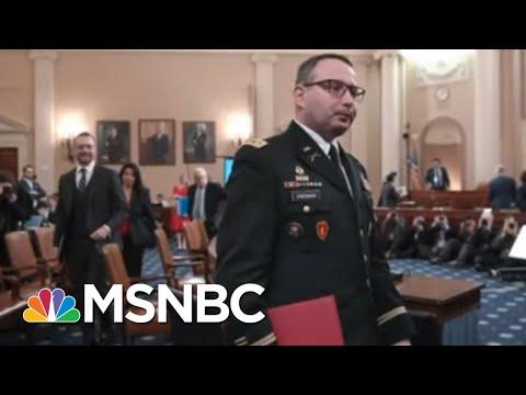 'Bullying, Intimidation, And Retaliation:' Key Impeachment Witness Vindman Retires | All In | MSNBC