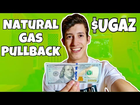 Whats Going On With $UGAZ! Natural Gas Pullback | Penny Stocks 101