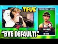 TFUE FINALLY BUYS A SKIN & EXPLAINS WHY (BULLSEYE SKIN) *EMOTIONAL* | Tfue Unlocks All NFL SKINS