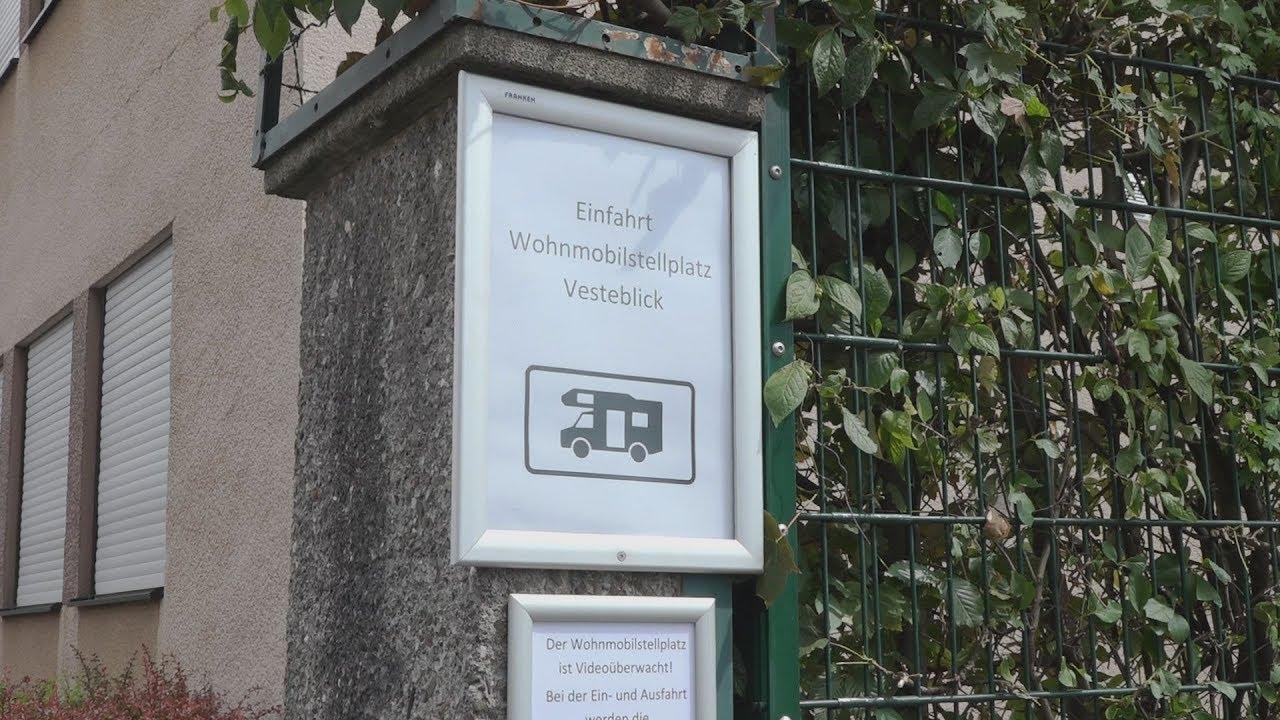 Wohnmobilstellplatz Vesteblick in Coburg