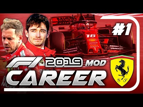 F1 2019 Mod CAREER MODE Part 1: Australia | Ferrari Mp3