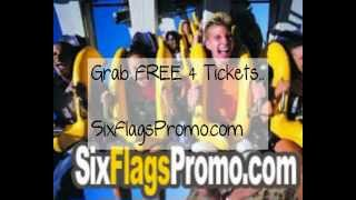 Tickets For Six Flags Great America 2012 FREE Tickets For Six Flags Great America!