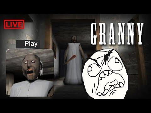 LIVE - GRANNY UPDATE STREAM [ HORROR GAME ]