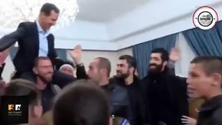 Асад и бывшие заложники из Эс-Сувейды