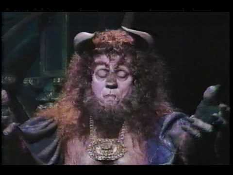 Terrence Mann Beast >> Beauty And The Beast Broadway 1994 Performance Part 2