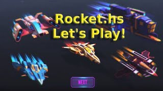 Rocket.hs - Let's Play (Android Space Game)