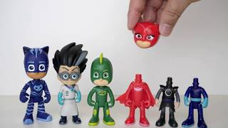 Pj Masks Toys  Wrong Heads , Learn Colors Pj Masks Beads Balls Disney Surprise Toys