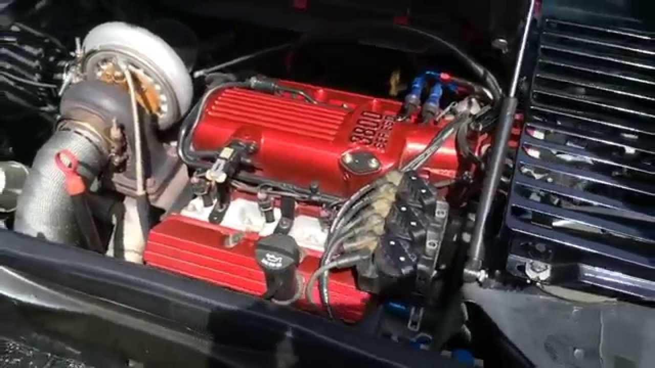 1988 Pontiac Fiero Gt 3800 Turbo Youtube