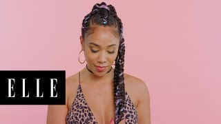 Mermaid Braids with Hazel Reneé | Braid Star | ELLE