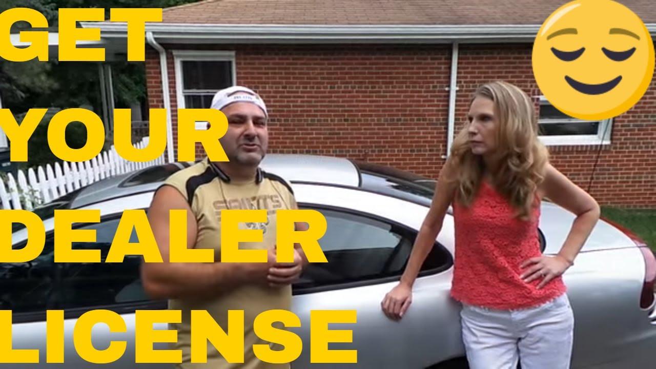 Flipping Cars Dealer License