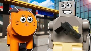 Lego Police Must Rescue Cats Stolen from a Pet Store in Brick Rigs Multiplayer!
